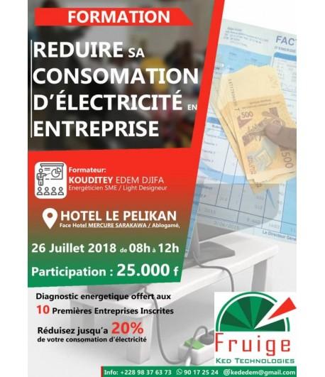 Reduire sa consommation d'électricité en Entreprise