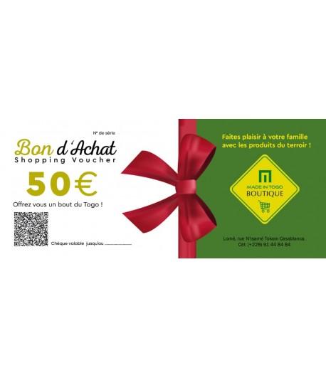 Chèque provision de 50 euro