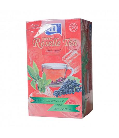 ROSELLE TEA (Fruit-mint)